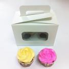 2 Cupcake Window Box with Handle($2.20/pc x 25 units)