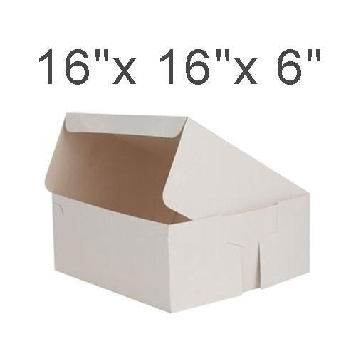 """Cake Boxes - 16"""" x 16"""" x 6"""" ($3.10/pc x 25 units)"""