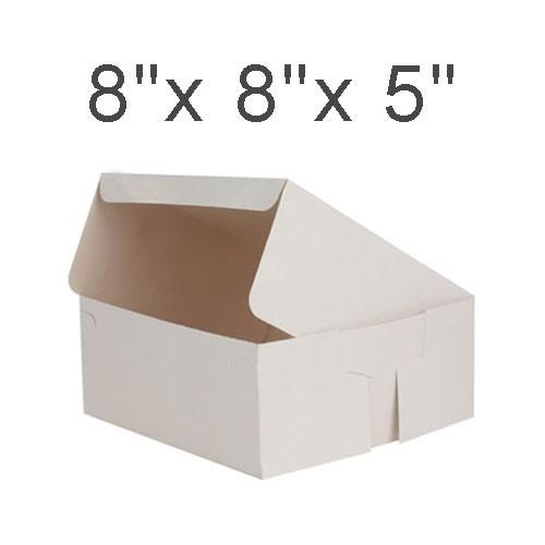 """Cake Boxes - 8"""" x 8"""" x 5"""" ($1.70/pc x 25 units)"""