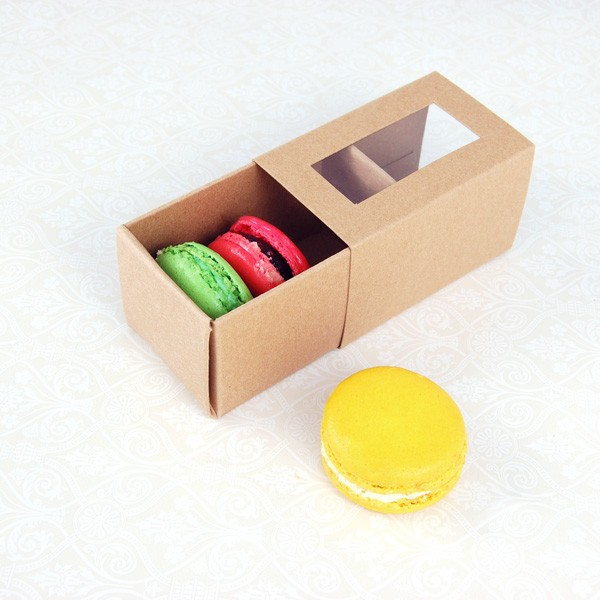 Printed Macaron Boxes