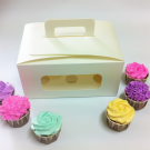6 Cupcake Window Box w Handle ($3.00/pc x 25 units)