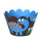 Dinosaur Cupcake Wrappers - 12units/pack