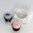 1 Cupcake Clear PVC Box($1.50/pc x 25 units)